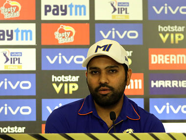 Rohit Sharma captain of Mumbai Indians during the pre-final press conference of the Indian Premier League (IPL), 2019 held at the Park Hyatt Hotel, Banjara Hills, Hyderabad on the 11th May 2019 Photo by: Vipin Pawar /SPORTZPICS for BCCI