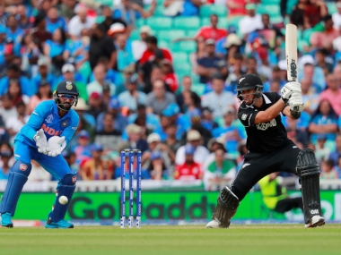 Ross Taylor top scores with 71 for New Zealand against India in first warm-up game. Reuters