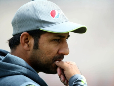 File image of Pakistan captain Sarfaraz Ahmed. AP