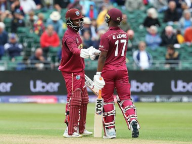 Shai Hope slammed 101 as West Indies posted 421 against New Zealand in warm-up game. AP