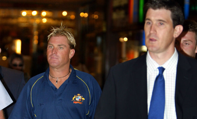 Shane Warne had tested positive for a banned substance Moduretic, for which he had been slapped with a one-year ban. Reuters