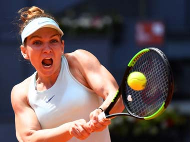 Madrid Open 2019 Simona Halep through to final with win over Belinda Bencic Dominic Thiem sets up Novak Djokovic clash