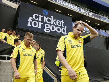 Britain Cricket - England v Australia - 2017 ICC Champions Trophy Group A - Edgbaston - June 10, 2017 Australia's David Warner and Steve Smith before the match Action Images via Reuters / Andrew Boyers Livepic EDITORIAL USE ONLY. - 14803974