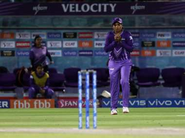 Veda Krishnamurthy said lack of playing experience under lights led to the dropped catches. Sportzpics