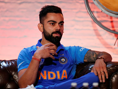 Cricket - ICC Cricket World Cup - Captains Press Conference - The Film Shed, London, Britain - May 23, 2019 India's Virat Kohli during the press conference Action Images/Andrew Boyers/Pool - RC1FDE87E6C0
