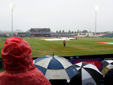 South Africa were coasting at 95 for no loss in Bristol after being sent into bat when the match was called off. Reuters