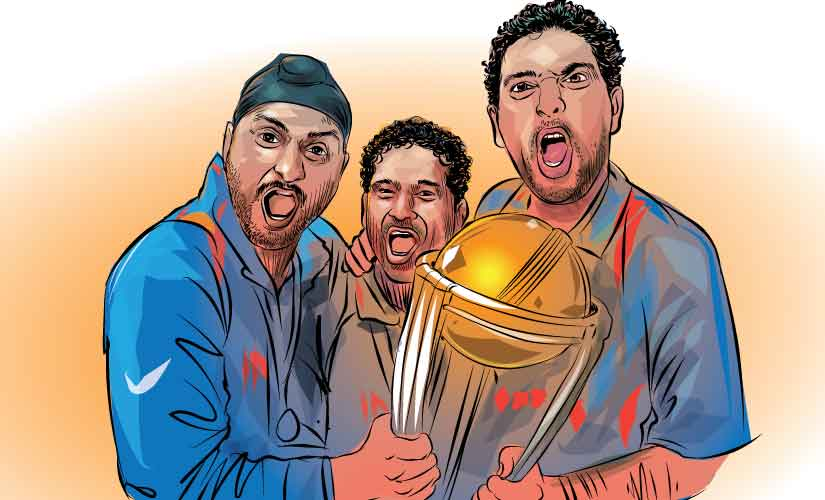 The World Cup was dedicated by all the Indian players to the Little Master Sachin Tendulkar.