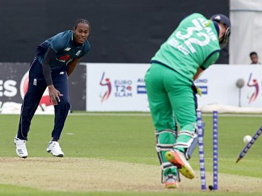 Jofra Archer (left) has making a lot of noise on cricketing circuit with his performance. AFP