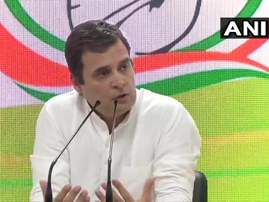 Rahul Gandhi condemns murder of Haryana Congress leader Vikas Chaudhary says it reflects states deteriorating law and order