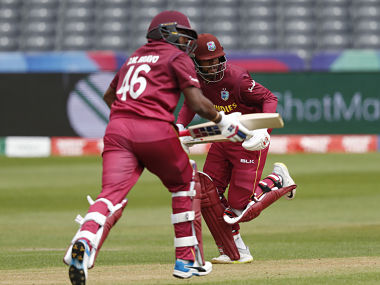 Shai Hope scored 101 runs in the West Indies innings. AFP