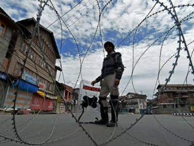 Security forces kill militant at encounter in central Kashmirs Budgam identity of terrorist yet to be ascertained