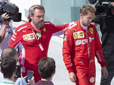 Formula One Ferrari summoned to a hearing over Sebastian Vettels penalty appeal at Canadian Grand Prix