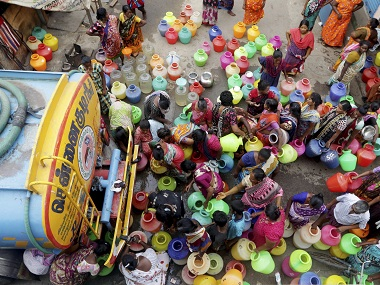 Tamil Nadu water crisis Madras HC asks govt to work with NGOs to conserve resource says dont stop protests as they spread awareness