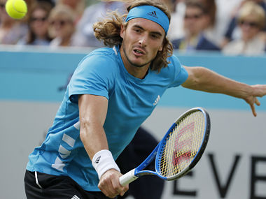 Queens Club Championships Stefanos Tsitsipas survives scare against Jeremy Chardy Nick Kyrgios blasts officials after exit