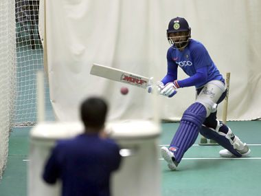 India captain Virat Kohli during a practice session ahead of their match against West Indies. AP
