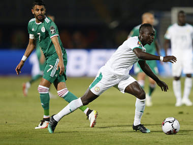 Africa Cup of Nations 2019 Riyad Mahrez and Algeria overcome Sadio Manes Senegal challenge to enter Round of 16