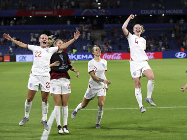 FIFA Womens World Cup 2019 Lucy Bronze scores a stunning goal as England beat Norway to seal semis spot