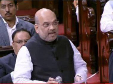Will not tolerate separatism terrorism says Amit Shah blames Nehru for Kashmir problem RS clears JK reservation bill