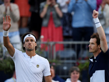 Queens Club Championships 2019 Andy MurrayFeliciano Lopez beat John PeersHenri Kontinen to reach doubles final