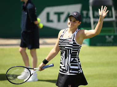 Birmingham Classic Ashleigh Barty remains in hunt for World No 1 ranking by setting up title clash with Julia Goerges