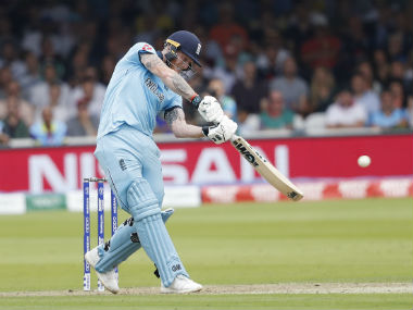 Ben Stokes played a lone hand in both the England's losses at this World Cup. AP