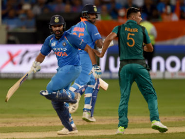 Indian top-order's performance against the Pakistani pace spearhead will hold the key for Virat's men. AFP