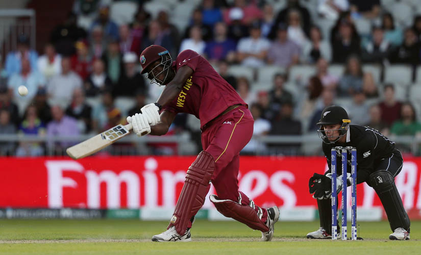 Brathwaite's remarkable hundred nearly saw the West Indies to an incredible success at Old Trafford. Reuters