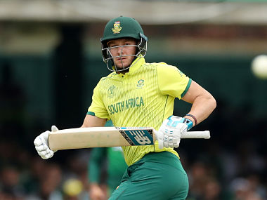 David Miller will miss the match owing to a groin strain. Reuters