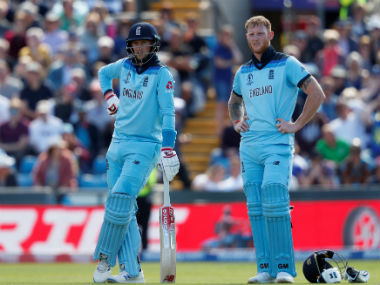 England's Joe Root and Ben Stokes. Reuters