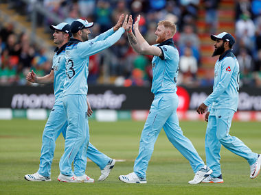 File picture of England players. Reuters
