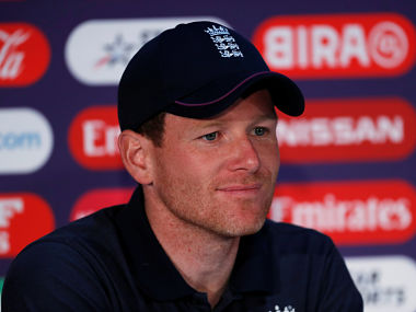 Cricket - ICC Cricket World Cup - England Press Conference - Lord's Cricket Ground, London, Britain - June 24, 2019   England's Eoin Morgan during the press conference    Action Images via Reuters/Paul Childs - RC1F24EBF300