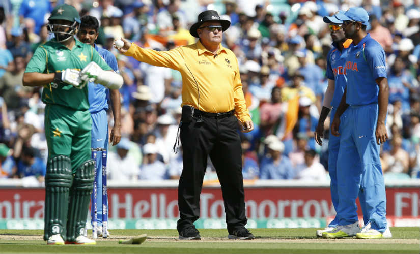 Fakhar Zaman had dreamt of getting out on a no-ball in the Champions Trophy final; Bumrah inadvertantly made his dream come true. AFP