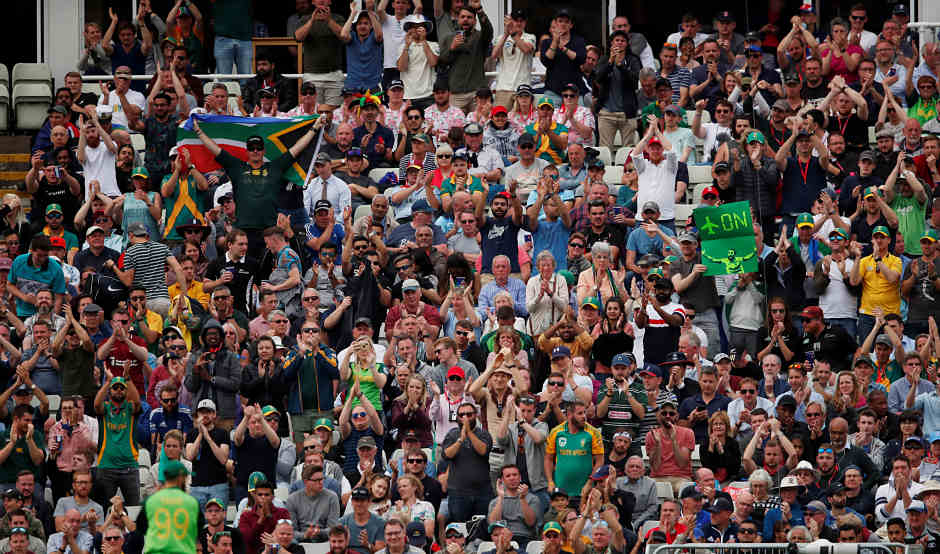 The fans had a gala time and witnessed a thriller and there are no prizes for guessing who their favourite player was - Imran Tahir. Reuters