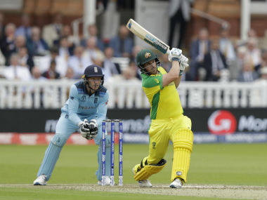 Aaron Finch led from the front with a ton against England. AP