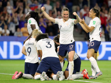 FIFA Womens World Cup 2019 Amandine Henry guides France to quarterfinals England beat Cameroon in badtempered affair