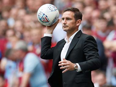 Premier League Derby free up Frank Lampard to begin negotiations with Chelsea for vacant managerial position