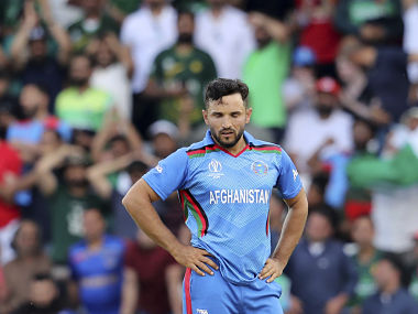 Gulbadin Naib issued a plea to supporters after his team's three-wicket defeat to Pakistan. AP