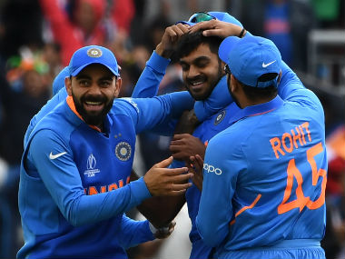 India maintained their all-win record over Pakistan in World Cups. AFP