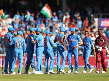 India are one win away from qualifying for World Cup 2019 semi-finals. AP
