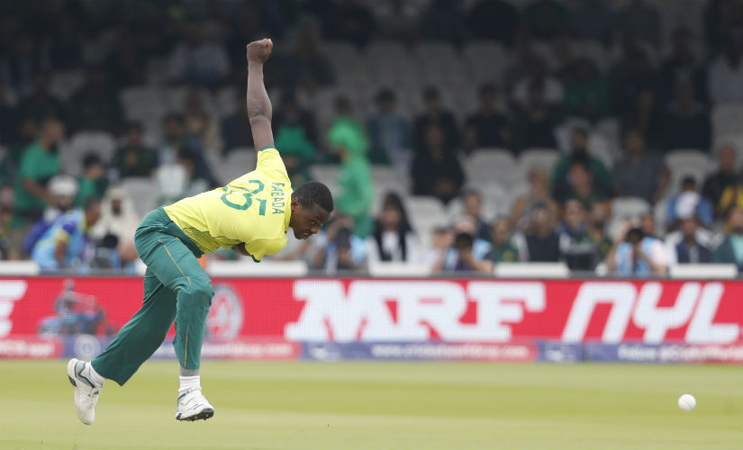 Kagiso Rabada's potency has gone down in World Cup after a hectic IPL 2019. AP