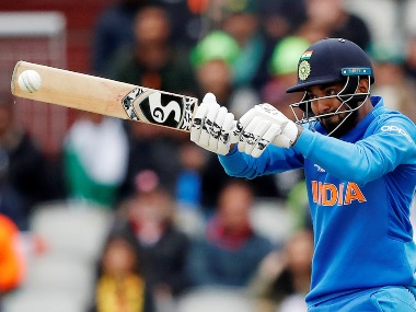 KL Rahul scored 57 while opening the innings for India. Reuters