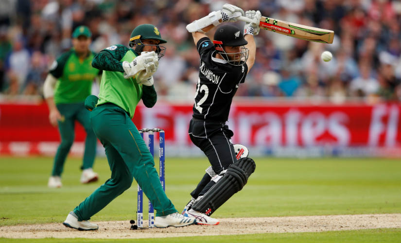 Williamson's deft dabs were the hallmark of his innings. Reuters