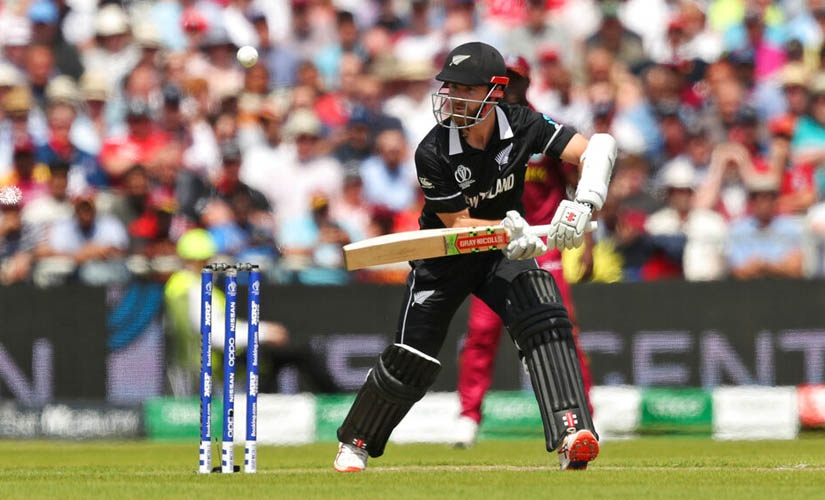 Kane Williamson's second successive World Cup hundred after a match-winning 106 not out against South Africa on Wednesday — took New Zealand to a competitive total. AP