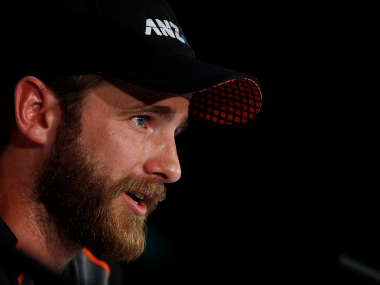 New Zealand skipper Kane Williamson addresses the press on the eve of their clash against Australia. Reuters