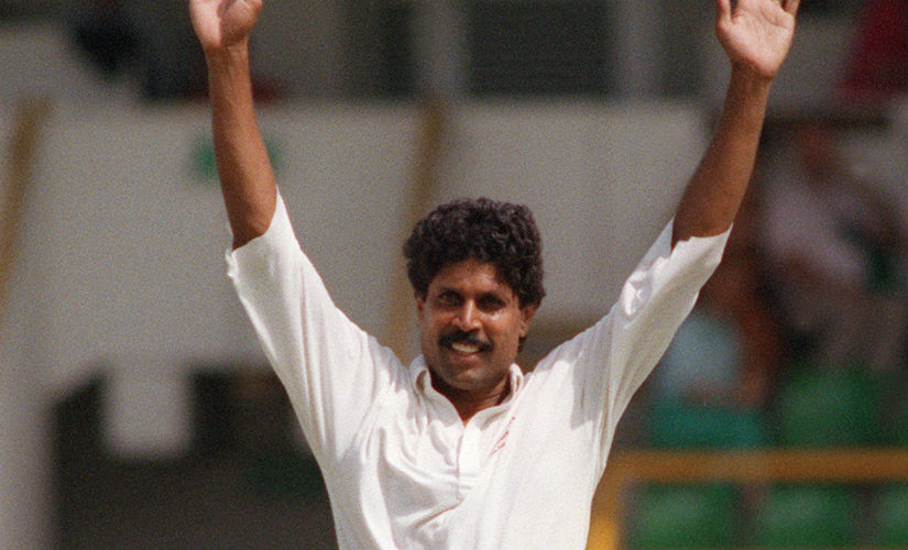 Like his great rival Imran Khan, Kapil reserved his best bowling for the traditional rivals. AFP