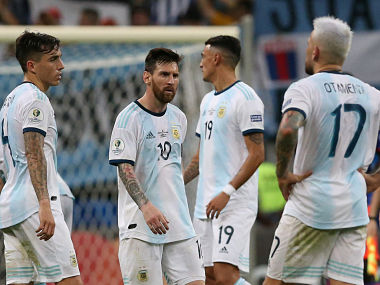 Copa America 2019 Lionel Messi says his team is feeling bitter after Argentinas opening match loss to Colombia