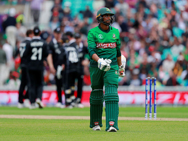 Mahmudullah suffered a calf injury while batting against Afghanistan. Reuters
