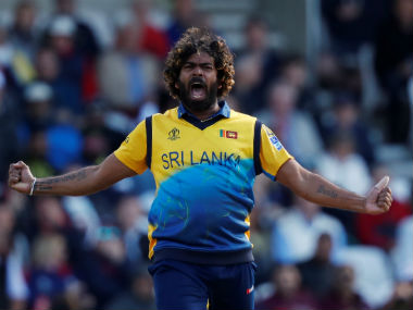 Lasith Malinga picked up four wickets against England. (Reuters)