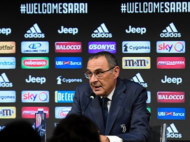 Serie A New Juventus manager Maurizio Sarri says Turin job is crowning moment of 30year managerial career