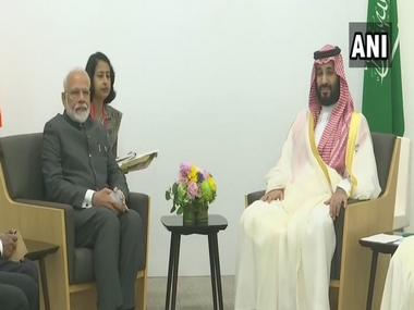 Narendra Modi meets Saudi Crown Prince Mohammed bin Salman discusses cooperation in trade energy security and counterterrorism at G20 Summit in Osaka